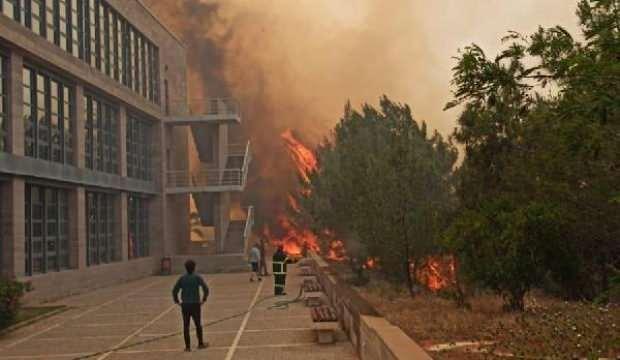 'Türkiye'den helikopter gelmeseydi okul kül olacaktı'