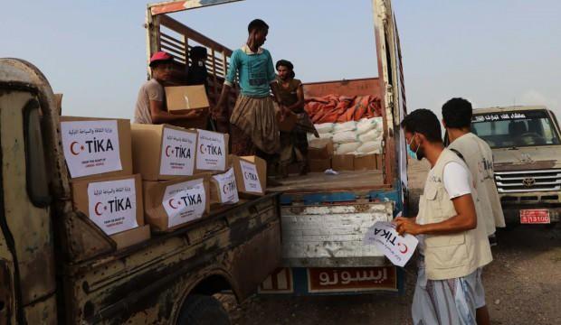 Türkiye'den Yemen'e Ramazan Bayramı yardımı