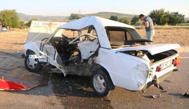 İzmir'deki kazada dede öldü, torunu yaralı