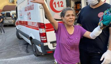 Maltepe'de kardeş kavgasında araya giren anneleri yaralandı