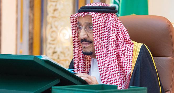 Suudi Arabistan Kralı Selman hastaneden kabine toplantısına katıldı