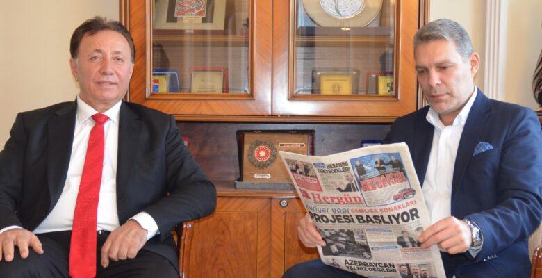 Mustafa Bilgehan Akıncı Hergün Gazetesini Ziyaret Etti.