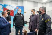 Soylu'dan Takviye Kuvvet Müdürlüğü'ne ziyaret