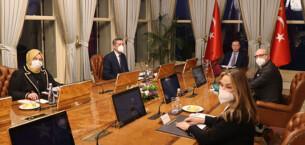 Cumhurbaşkanı Erdoğan Tayfun Öktem'i kabul etti