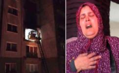 22 katlı binanın 9'uncu katında patlama:  5 yaralı
