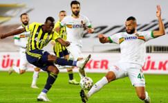 Fenerbahçe, Alanyaspor'u 2-1 mağlup etti