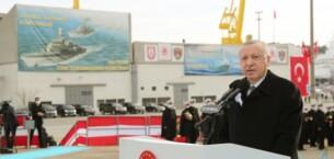 Erdoğan: Kendi savaş gemisini yapan 10 ülke içindeyiz