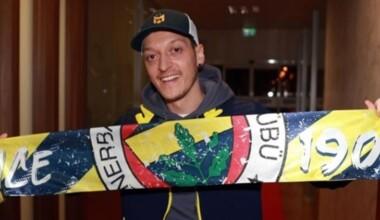 Mesut Özil'den galibiyet paylaşımı!
