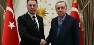 Cumhurbaşkanı Erdoğan, Elon Musk ile görüştü!
