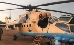 Afrika ülkesi, taarruz helikopterlerini teslim aldı