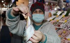 Balık alırken bu iki hileye dikkat! Bazı balıkçılar boya ve ağırlık kullanıyor