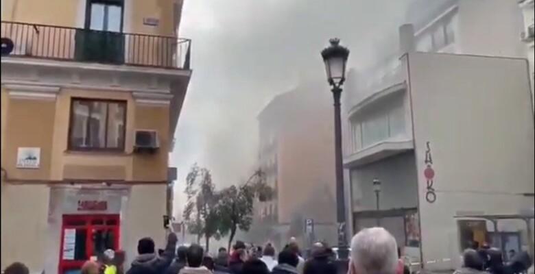Son dakika… Madrid'de patlama