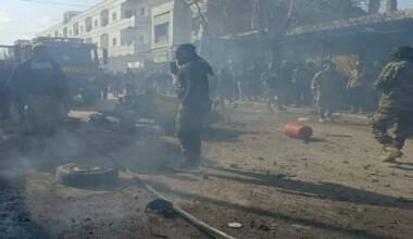 Halep'te bomba yüklü araçla saldırı: 2 ölü, 12 yaralı