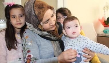 Antalyalı aile, burnu olmadan dünyaya gelen çocukları için destek bekliyor