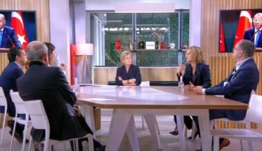Fransız devlet televizyonunda Cumhurbaşkanı Erdoğan tartışması
