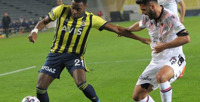 Fenerbahçe, Kadıköy'de bu kez de Gençlerbirliği'ne kaybetti