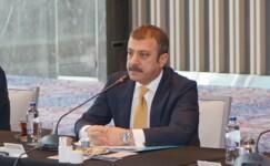 Şahap Kavcıoğlu banka yöneticileri ile toplantı yaptı