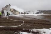 Kazakistan'da uçak düştü