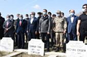 Mardin'de 34 yıl önce PKK'nın katlettiği şehitler anıldı