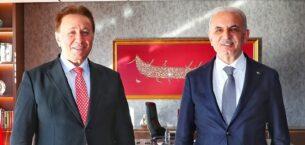 Dr. Adnan Odabaş'tan, Başkan İsmet Yıldırım'a ziyaret