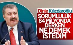Kılıçdaroğlu'nun Bilim Kurulu' açıklamalarına Fahrettin Koca'dan cevap