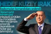 Cumhurbaşkanı Erdoğan: Amaç, güney sınırındaki terör varlığını ortadan kaldırmak