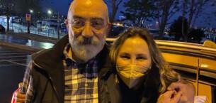 Ahmet Altan tahliye edildi! İşte ilk fotoğrafı