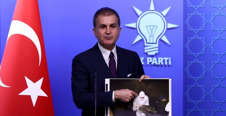 AK Parti Sözcüsü Çelik, Yunanistan'ın Ege'deki zalimliğinin kanıtlarını gösterdi