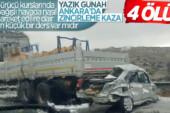 İstanbul-Ankara yolunda zincirleme trafik kazası