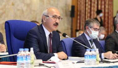 Lütfi Elvan, AB üyesi büyükelçilere ekonomi reformlarını anlattı
