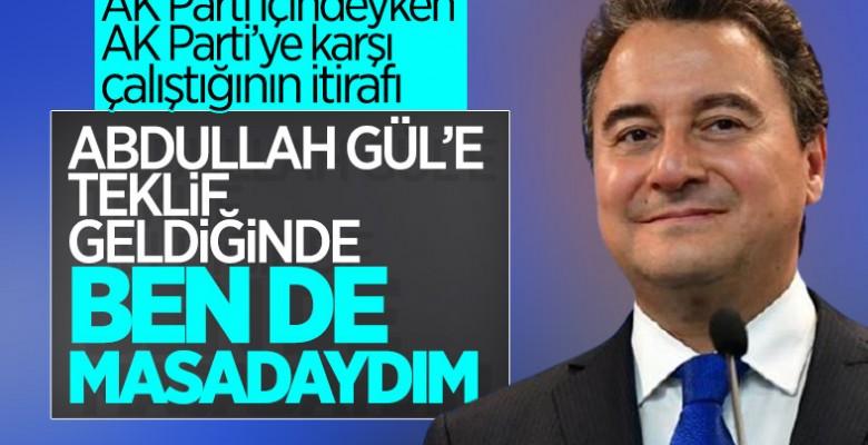 Ali Babacan'a, Abdullah Gül'ün ortak adaylığı soruldu