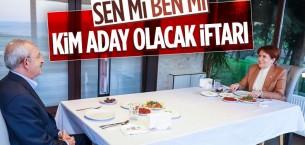 Meral Akşener ile Kemal Kılıçdaroğlu iftarda bir araya geldi
