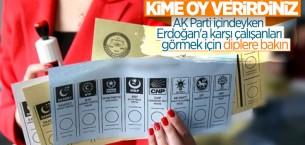 Optimar'ın genel seçim anketinde oy oranları