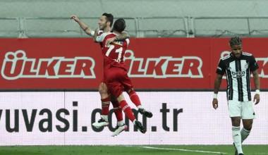 Beşiktaş- Fatih Karagümrük Süper Lig maç sonucu: 1-2