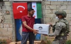MSB: Mehmetçik İdlib'de yardıma devam ediyor