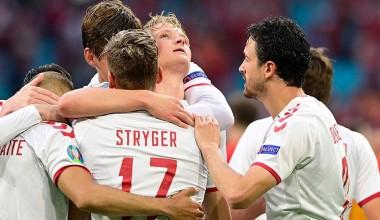 EURO 2020'de Galler'i 4-0 yenen Danimarka ilk çeyrek finalist oldu
