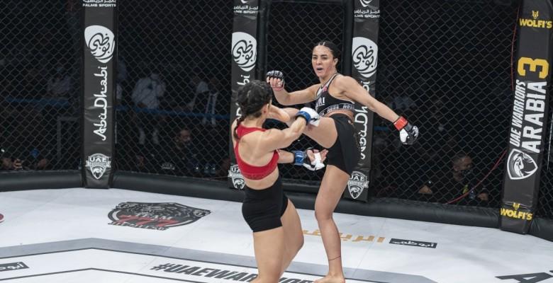 Sabriye Şengül MMA'de kazanan ilk Türk kadın oldu