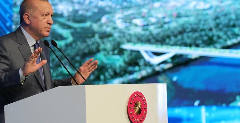 Cumhurbaşkanı Erdoğan tarihi proje Kanal İstanbul'u başlattı