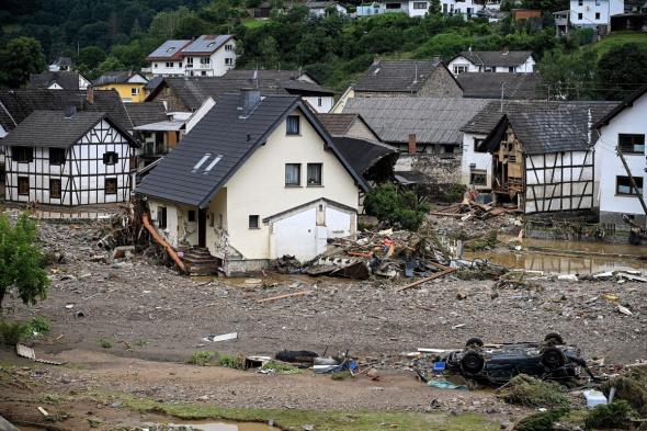 Almanya'da sel felaketinde can kaybı sayısı 42'ye yükseldi