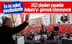 Cumhurbaşkanı Erdoğan: 2023 seçimleri kritik öneme sahip