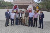 Şehit Köse Süleyman Makam Anıtı açılışı yoğun katılımla gerçekleşti