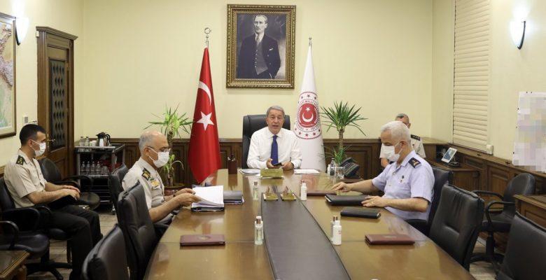 Milli Savunma Bakanlığı'nda 'Afganistan' toplantısı