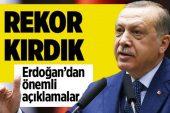 Erdoğan: Hedef 17 uzak ülkeye 81.5 milyar ihracat