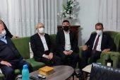 Kılıçdaroğlu'dan Veli Ağbaba'ya taziye ziyareti